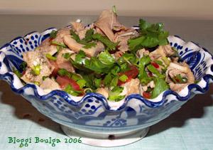 Salade de tripes à la citronnelle